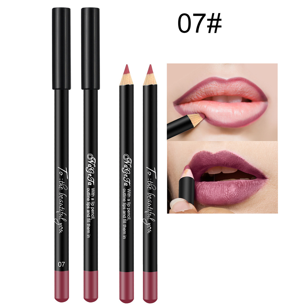 1 шт., матовый карандаш для губ, водостойкий, долговечный, телесный, макияж, набор карандашей для губ, профессиональный, completa TSLM1