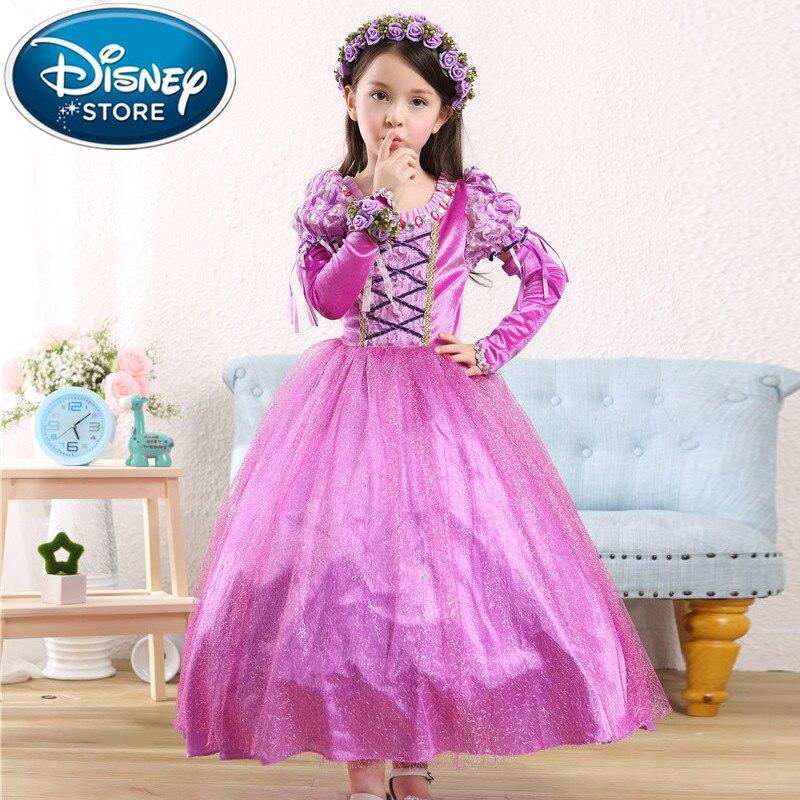 Анна в платье дисней
