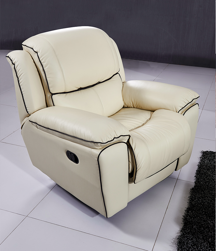 Leather Sectional Couches Automatic Recliner Sofa Set,Manual Recliner White  Color In Living Room Sofas From Furniture On Aliexpress.com | Alibaba Group