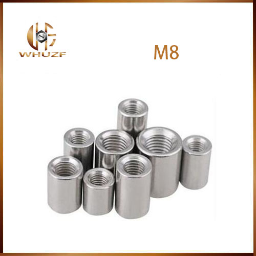 extended nut M6 M14 M6*10*20 M14x20x30 304 Stainless Steel Thick Extended Rod Round Cylinder Double Coupling Connector Nut
