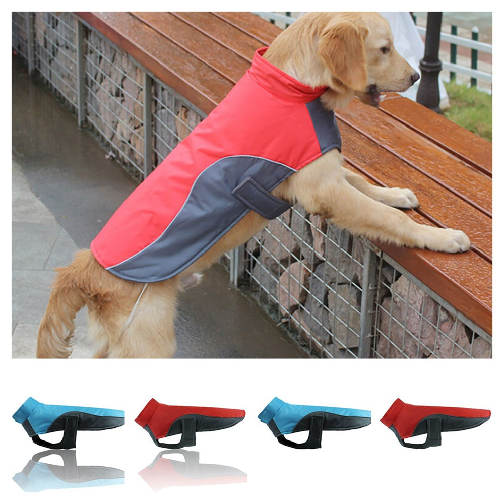 Dog Clothes For Big Dogs Pet Products Clothing Hoopet Waterproof Dogs Puppy Jacket Vest Winter Warm Pet Coat Clothes Clothing