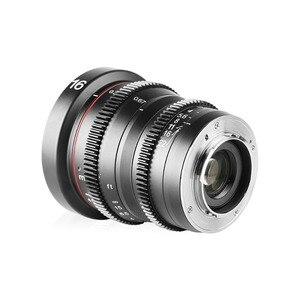 Image 3 - Meike MK 16mm T2.2 Manual Focus Aspherical Portrait Cine Lens for Micro Four Thirds (MFT, M4/3) Mount Olympus Panasonic