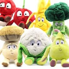 """Фрукты овощи цветная капуста гриб черника Starwberry """" мягкая плюшевая кукла игрушка Товары игрушки для детей"""