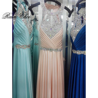 Floor Length Satin Sexy Long Formal Evening Dresses Prom Party Gowns Elegant Cheap Evening Dresses 2016