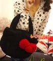 Dos desenhos animados olá kitty Grande estereoscópico bowknot cabeça do gato de pelúcia bolsa de ombro bolsa de mulher bolsa saco de presente de aniversário da menina 1 pc