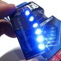 1 Pcs Carregador Solar Do Carro 6 LEVOU Auto Lâmpada de Luz de Advertência Do Carro de Segurança do Alarme de Assaltante Do Sensor Do Carro
