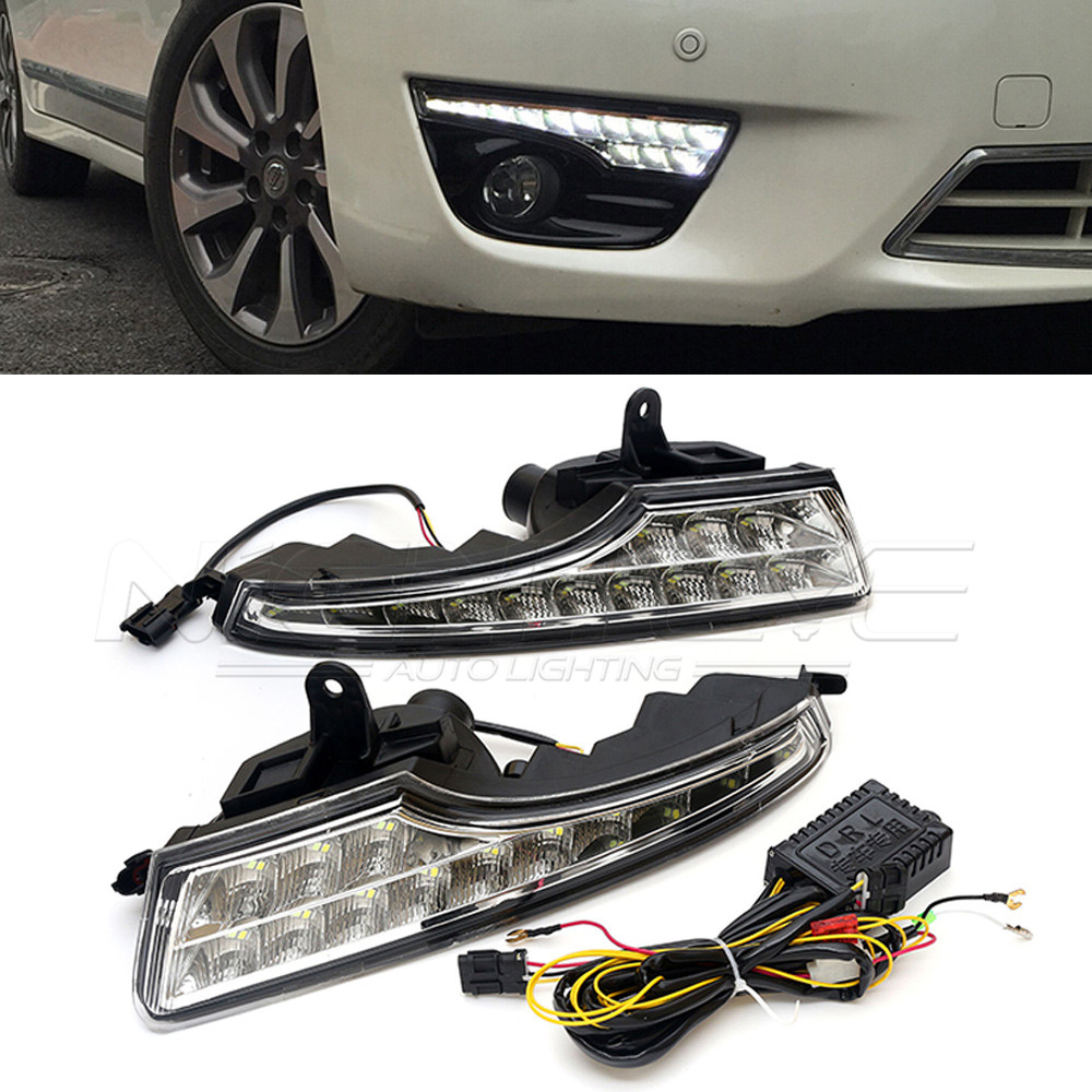 For NISSAN TEANA 2013-2016 Car-special LED Daytime Running Light with Turn Light Function DRL D15 new arrival led drl daytime running light driving light with turn light function for nissan teana altima 2013 2014 2015