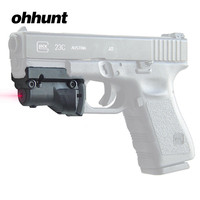 Ohhunt Tactical 5mw Red Laser sight Scope red dot for Glock 19 23 22 17 21 37 31 20 34 35 37 38 Pistol Rifle Airsoft Hunting