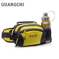 multi function waterproof kettle bagsports bottle bag Waist bag men and women riding pockets