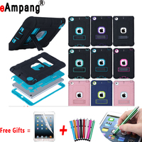 For IPad Mini 1 2 3 Case Kids Baby Safe Armor Shockproof Heavy Duty Silicone Hard