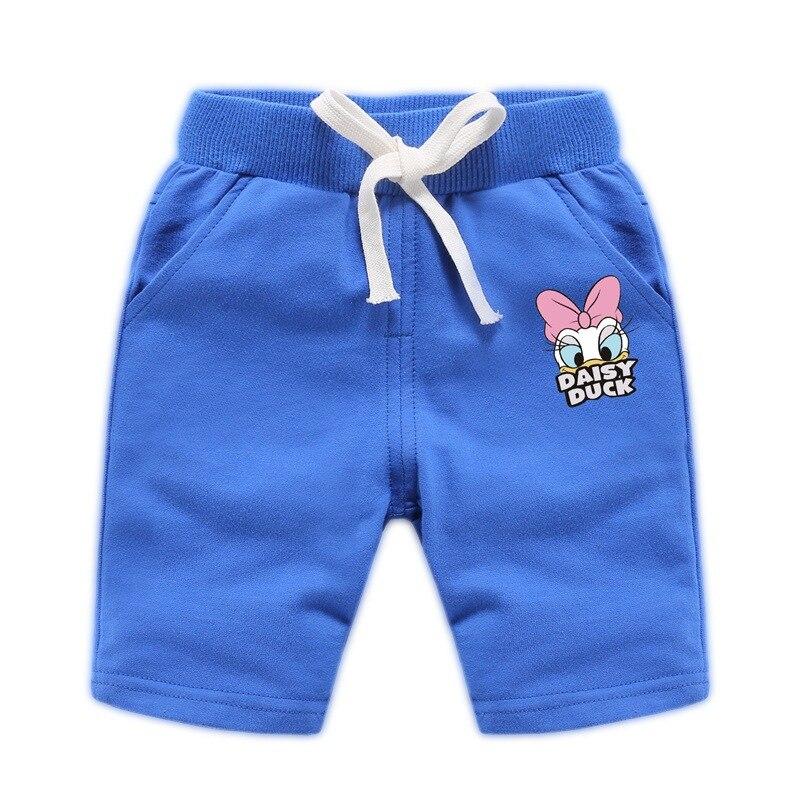 2019 Summer Girls Boys Pants Teenager Casual Shorts Cartoon Mickey New Childrens Sweatpants Cotton Alphabet Sportswear