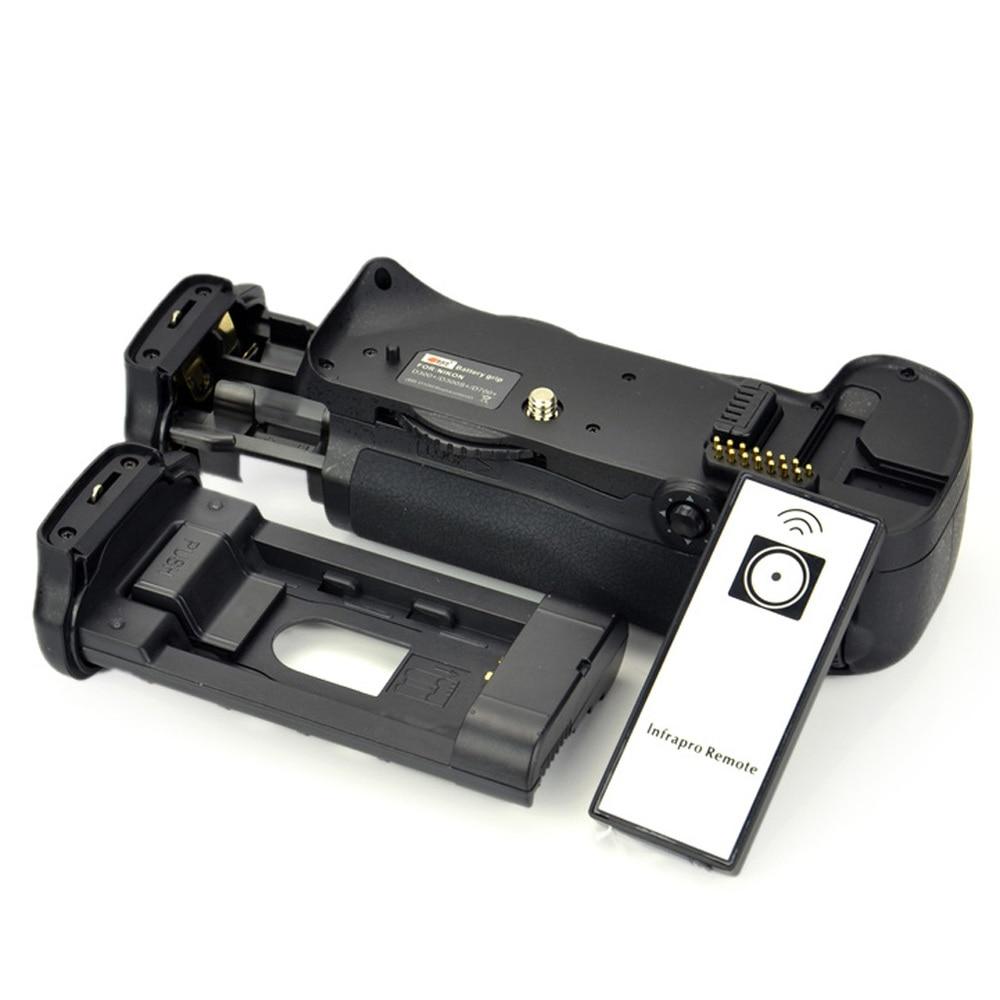 DSTE Multi Power Vertical Battery Grip Remote Control for Nikon D300 D300S D700 D900 DSLR Camera