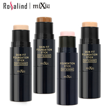 [Rosalind Beauty] MIXIU Face Makeup Foundation Stick Bronzers & Highlighters Concealer Creamy Perfect Cover Smooth Base Face