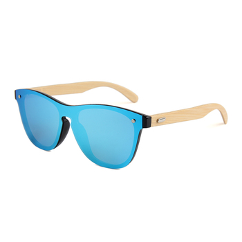 Willpower bamboo men and woman Sunglasses