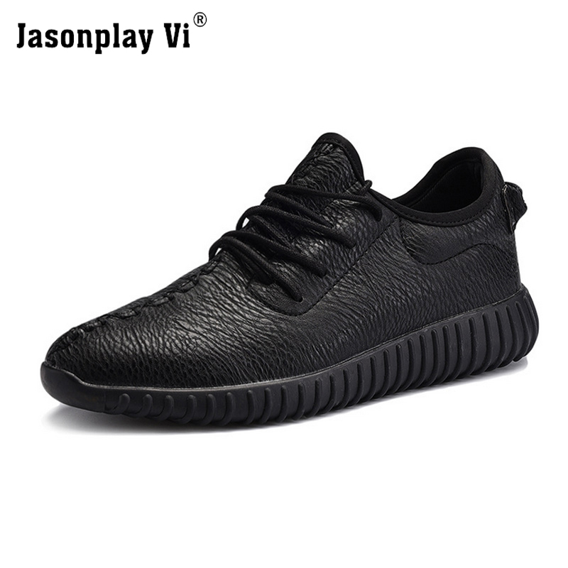 ФОТО Jasonplay Vi & 2017 Ultra Solid Color Men Casual Shoes Comfortable Superstar Wear-resistant Shock Men Shoes For adults X48