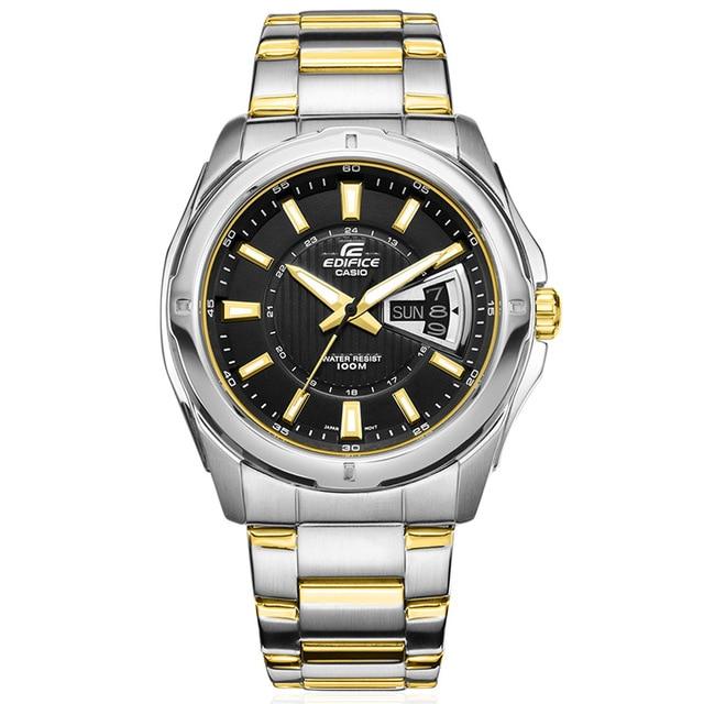 6e03a74b411 Casio Edifice Relógio de Quartzo dos homens Relógio de Pulso do Negócio  Assista Top Marca de