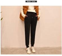 Женские кашемировые мягкие леггинсы; брюки из толстого материала;