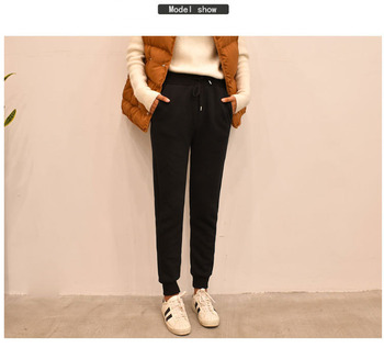 цена на Womens Cashmere Soft Legging Pants Thicked Material Casual Sport Pants