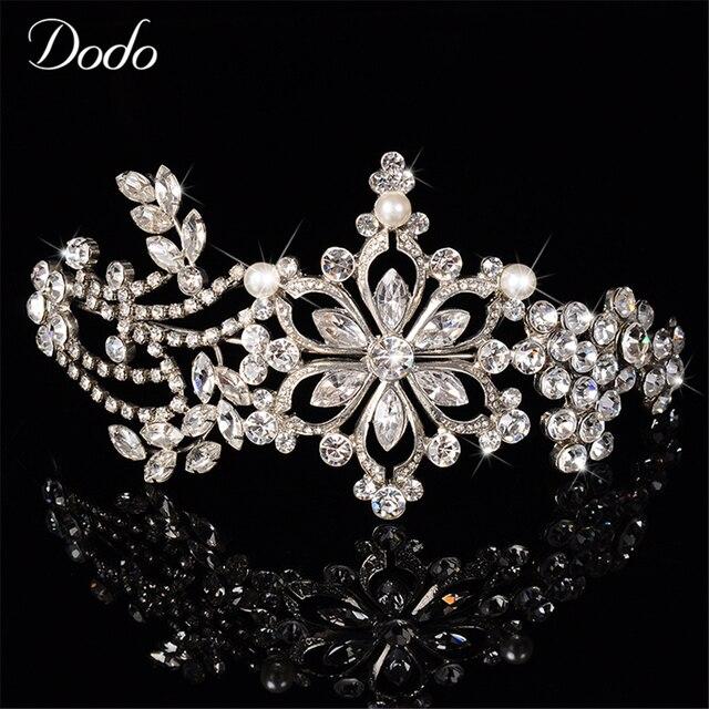Luxus Osterreichischen Kristall Vintage Hochzeit Haarschmuck Tiara