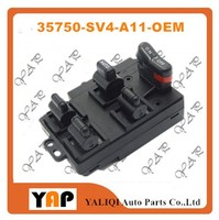 Power Window Lifter Switch FOR FITHONDA Accord 2 2L 2 7L L4 V6 FRONT Left 35750