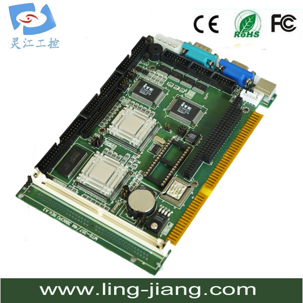100% OK Original IPC ISA Board SBC Industrial motherboard Half-Size CPU Card support pc104 interface анатолий зарецкий вериги