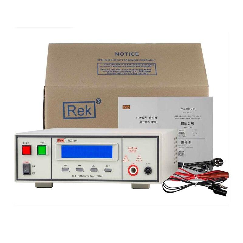 2 pièces RK7110 programmable AC tension testeur tension réglable: 0-5KV programmable tension testeur