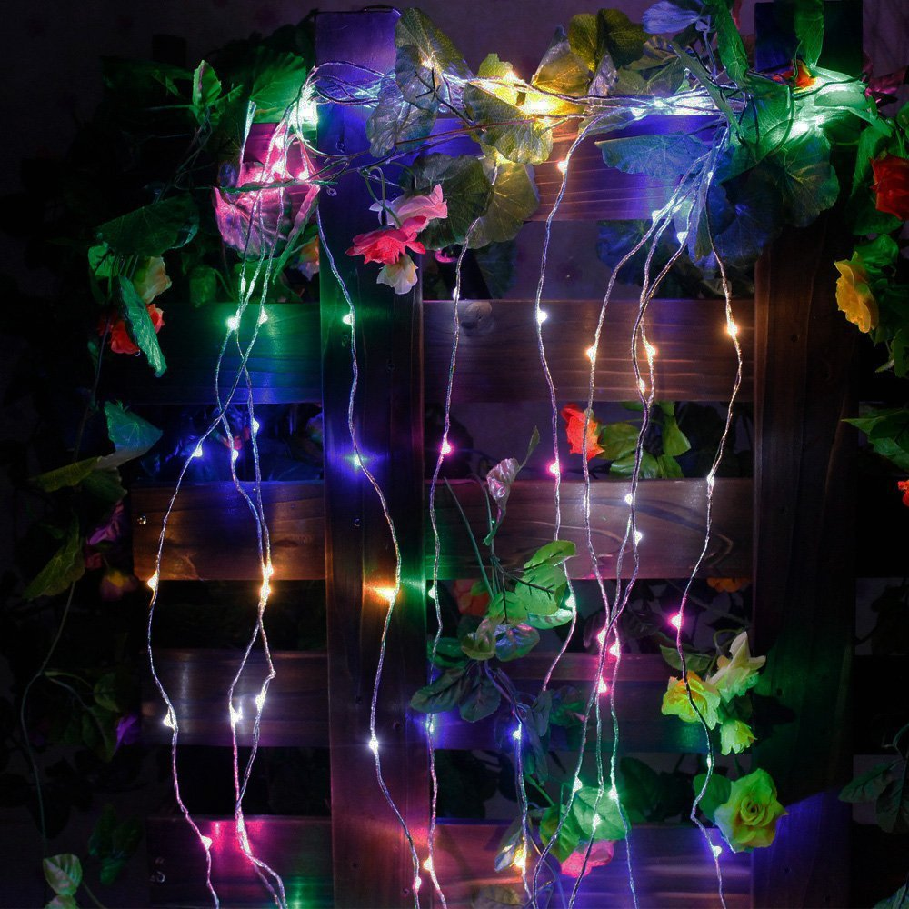 Tree Vine Branch Silver Wire String LED Starry Rice Micro Lights, Christmas  Wedding Decoration, 380LEDs19branches,2M12V In Novelty Lighting From Lights  ...