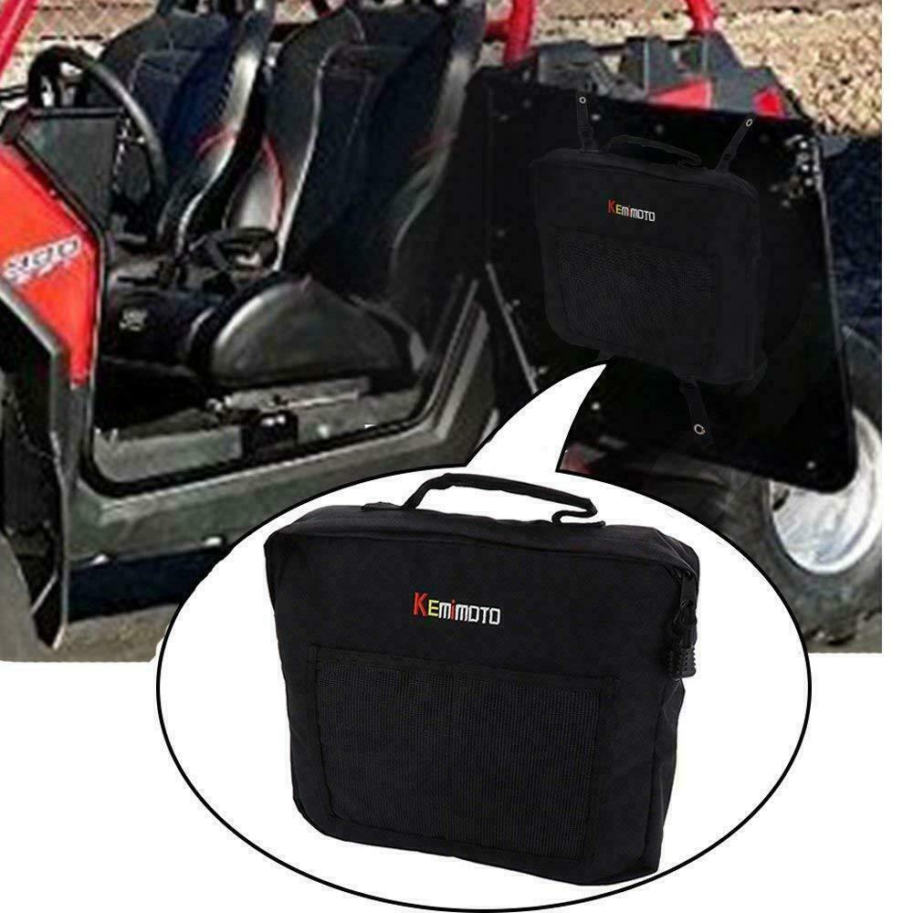 KEMIMOTO 2PCS UTV Door Mount Storage Bag Pack for Polaris Ranger RZR XP 4 570 800