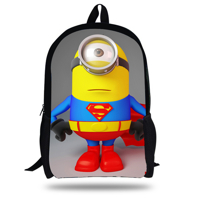 565fc5003c 16-inch Children School Backpack Mochila Minions School Bags Cute Kids  Backpacks Despicable Me Printed For Boy and Girl.