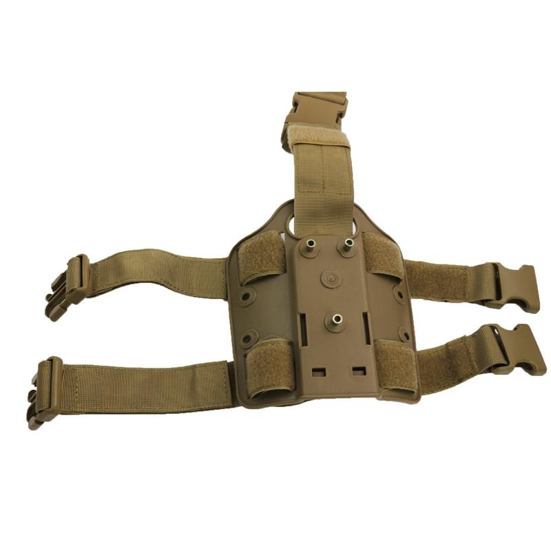 Tiro de caza Del Airsoft Pistola Pistolera Pistolera Táctica de Combate Del Ejército Protector Fit Para GL 17, Colt 1911, P226, HK USP, M9