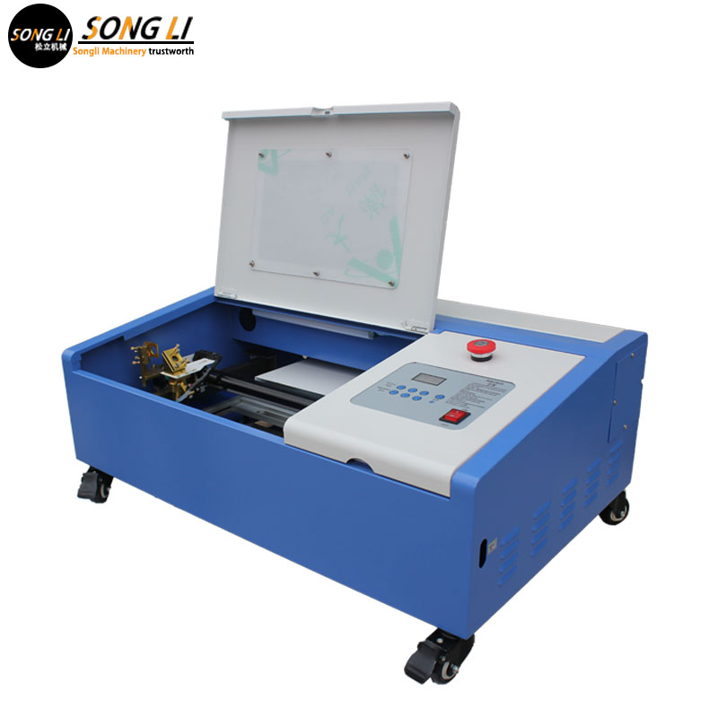 Songli 3020 50w  Mini  Co2 Laser Engraving Machine, Wood, Mdf, Acrylic, Rubber Stamp Cutting