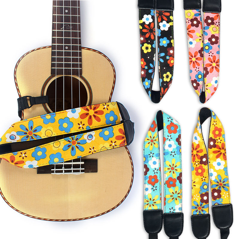Ukulele Strap fit for soprano concert tenor 21 23 26 Profissional Ukulele Accessories 10mm thicken cartoon soprano concert tenor ukulele bag case backpack 21 23 26 inch ukelele beige guitar accessories parts gig