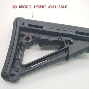 Image 3 - Тактическая нейлоновая CTR Задняя поддержка CTR после ухода для страйкбола AEG игрушка Охотничьи аксессуары