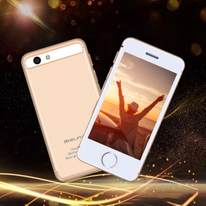 Image 5 - Smallest android phone Melrose S9 S9P 3G WIFI Ultra slim mini mobile phone MTK6580 Quad core cell phones for children kids