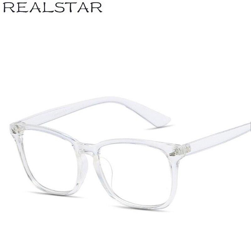 a4f3237a985b ... REALSTAR 2018 Retro Square Frames Eyeglasses for Men Myopia Optical  Rivets Glasses Frame Brand Eyewear Glasses ...