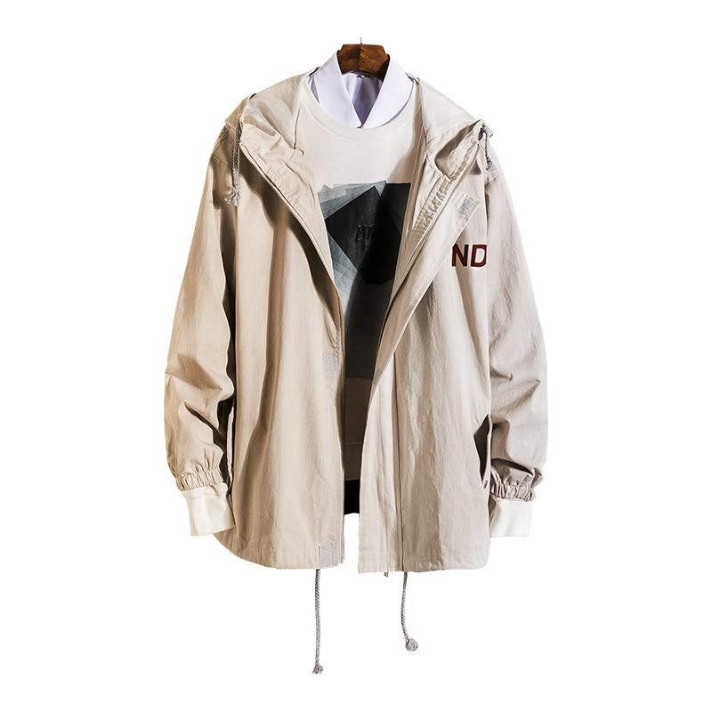 Hooded   Jackets   Women 2019 Spring Causal Women   Basic     Jackets   Cotton Windbreaker Zipper Lightweight   Jackets   Bomber Famale Coats