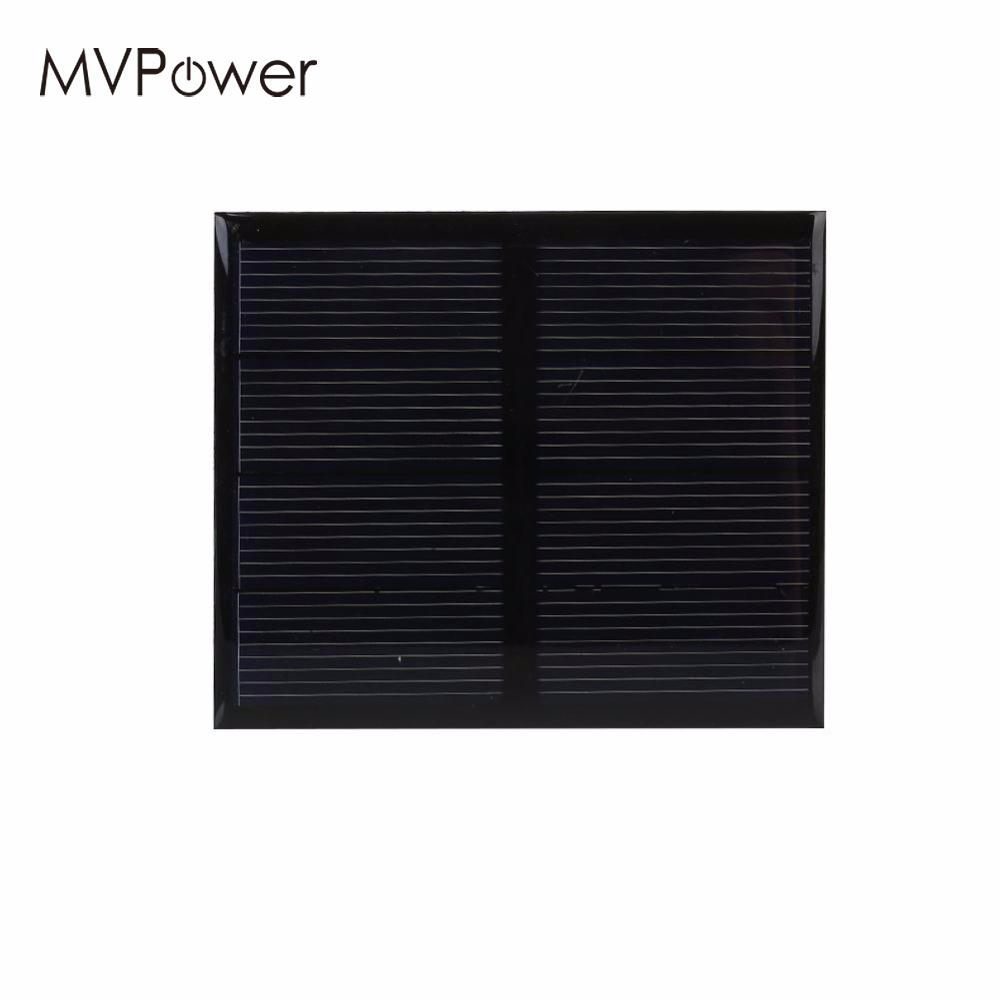 Mini 0.6W 2V Polycrystalline Silicon Solar Panel Module Cell DIY Charger For Light Battery Phone Portable Home Travelling