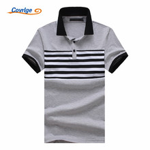 Covrlge 2018 Fashion Brand Striped Men Polo Shirt Short Sleeve Mens Summer Casual Top Shirts Male Clothing MTP081
