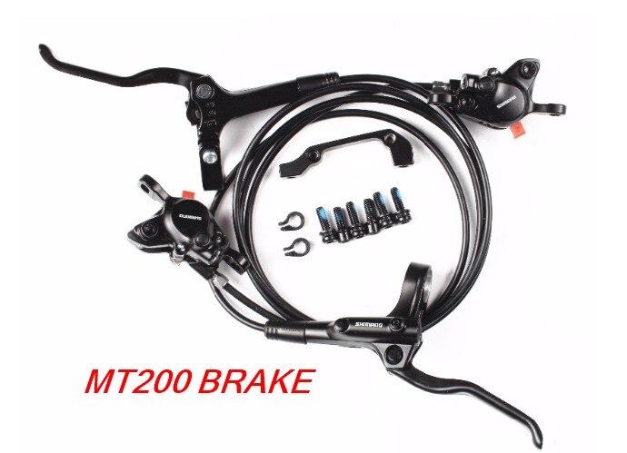 shimano BR BL MT200 Brake bicycle mtb Hydraulic Disc brake set clamp mountain bike Brake Update