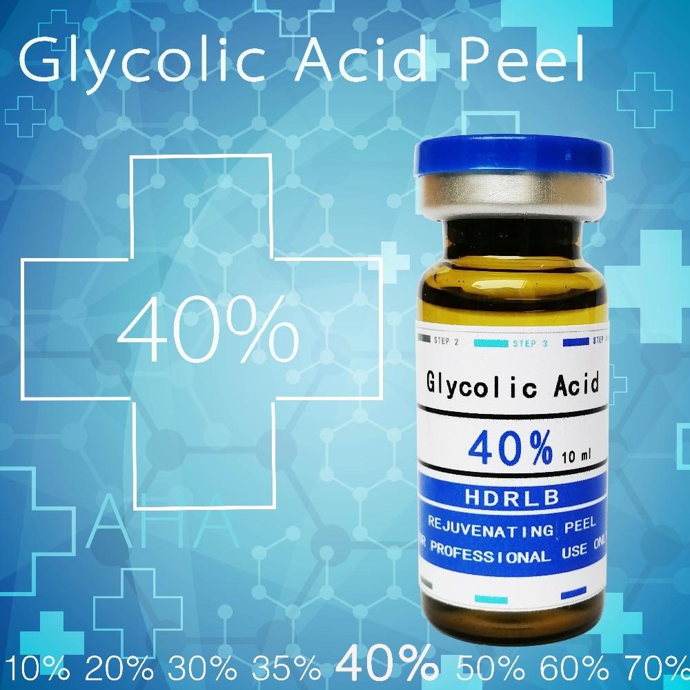 glycolic acid 40% skin peel acne remover bady Exfoliator clogged pores dull skin fabric wrinkle serum rosacea plants acne patch недорго, оригинальная цена