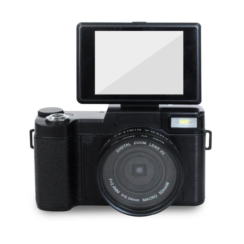 P10 Digital Camera 1080P 15fps Full HD 24MP 3.0inch Rotatable LCD Screen CamVideo Camcorder Wide Angle Lens Cameras