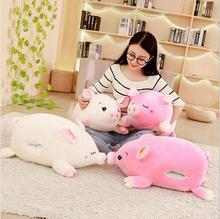WYZHY down cotton pig pillow plush toy sofa decoration to send friends and children gifts 40CM