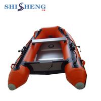 Chinese manufacture mini inflatable fishing boat made by hand