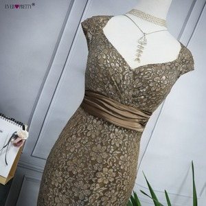 Image 5 - Plus Size Evening Dresses 2020 Ever Pretty EP08798CF Elegant Mermaid Lace Sleeveless Party Gowns Vintage Sexy  Robe De Soiree