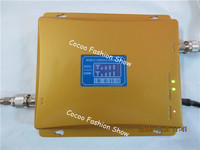 LCD Display ! GSM 900Mhz DCS 1800MHz Dual Band Cell Phone Signal Booster , GSM 4G Mobile Signal Repeater , GSM Repetidor Booster