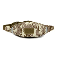 Outdoor Unisex Military Tactical Chest Bags Camouflage Waterproof Nylon Waist Bag Adjustable Belt M Hunting Sport