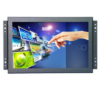 2018 Hot sale 10.1 inch car monitor 1280*800 10 inch hdmi lcd resistive touch monitor with VGA/HDMI/USB/AV/BNC Speakers