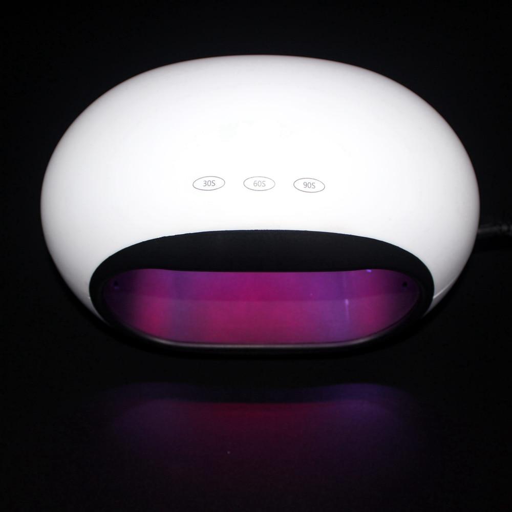 2018 SUN8se Automatic Sensor 36W Nail Dryer White Light UV LED Lamp Curing Both LED Gel Free Shipping