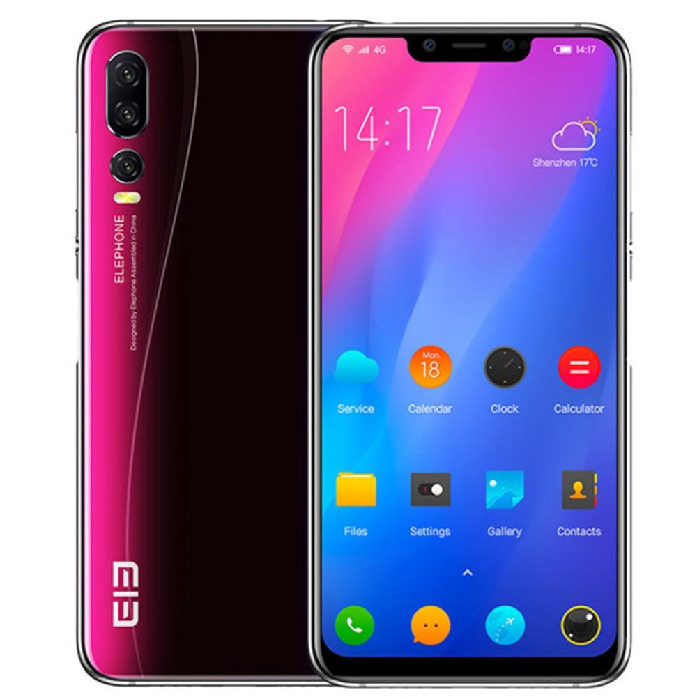 EU Union Version ELEPHONE A5 4GB RAM 64GB ROM Helio P60 MTK6771 2.0GHz Octa Core 6.18 Inch Screen Android 8.1 4G LTE Smartphone