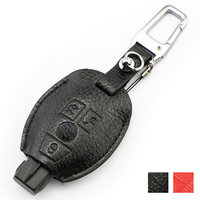 Genuine Leather Key Cover For Mercedes Benz Class A C E S ML CLK SLK CLS